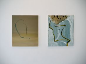 (L-R) Deflate (2015), Torso (2014) / Damien Flood